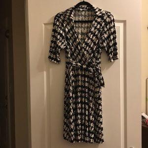 Pseudo wrap dress